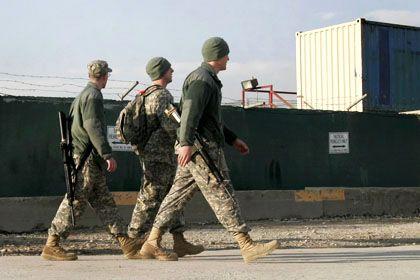 US-Soldaten in Bagram: Gefängnis für den Krieg in Afghanistan