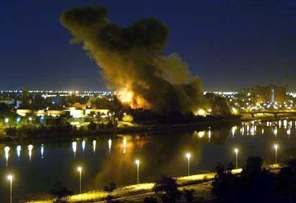US-Angriff auf Bagdad im Jahr 2003: Tipp vom BND?