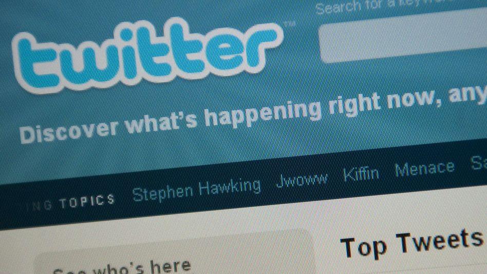 Twitter-Homepage: Haftstrafe für Falschmeldung