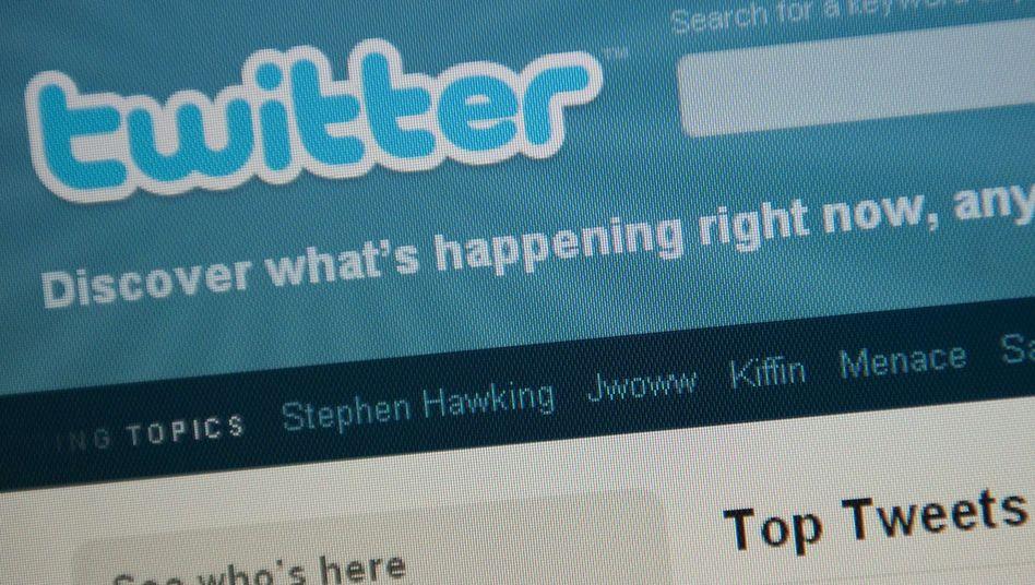Twitter-Logo: Der Online-Dienst sperrt das Konto eines Journalisten