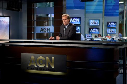 Newsmann im »Newsroom«-Newsroom