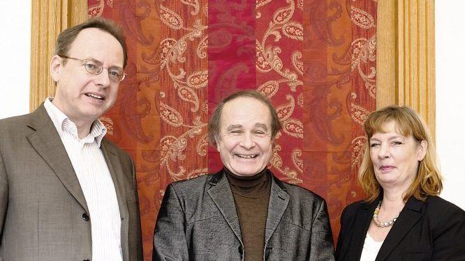 Pieper und Gatterburg im Gespräch mit Michael von Brück