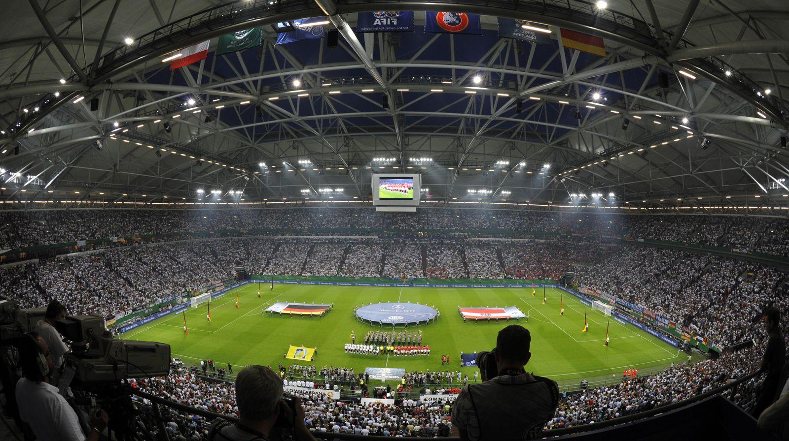 Stadion Schalke / Länderspiel
