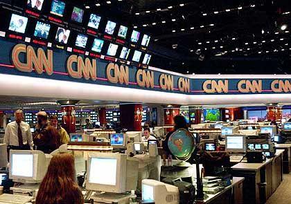"""CNN-Newsroom in Atlanta: """"Die Industrie umgewälzt"""""""