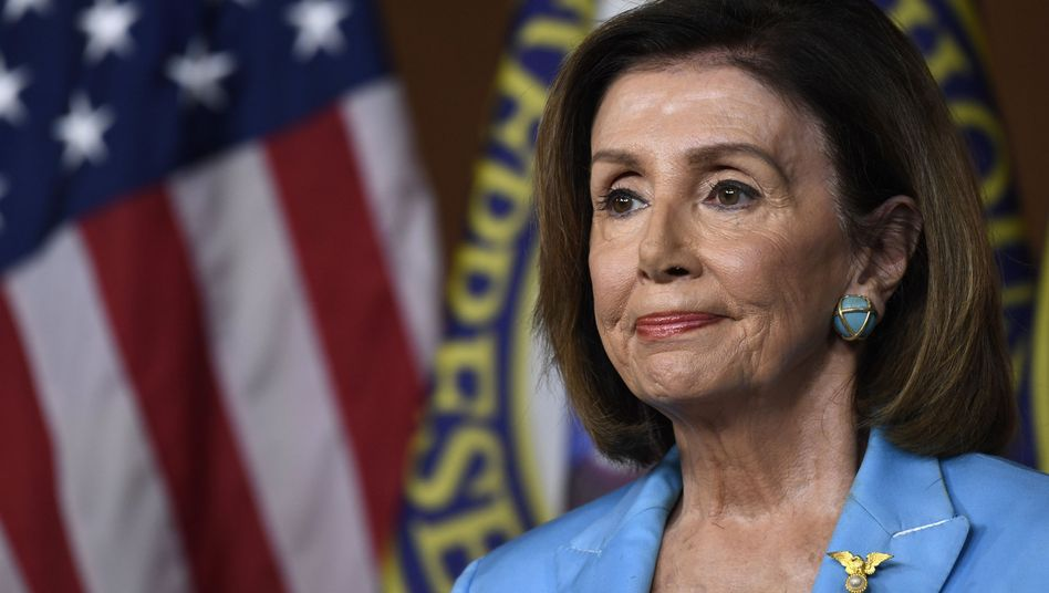Die Vorsitzende des US-Repräsentantenhauses, Nancy Pelosi