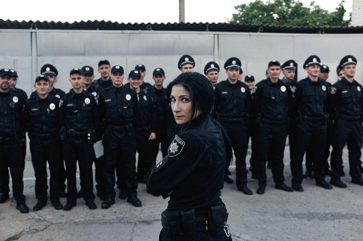 Polizeichefin Maja Breslawska