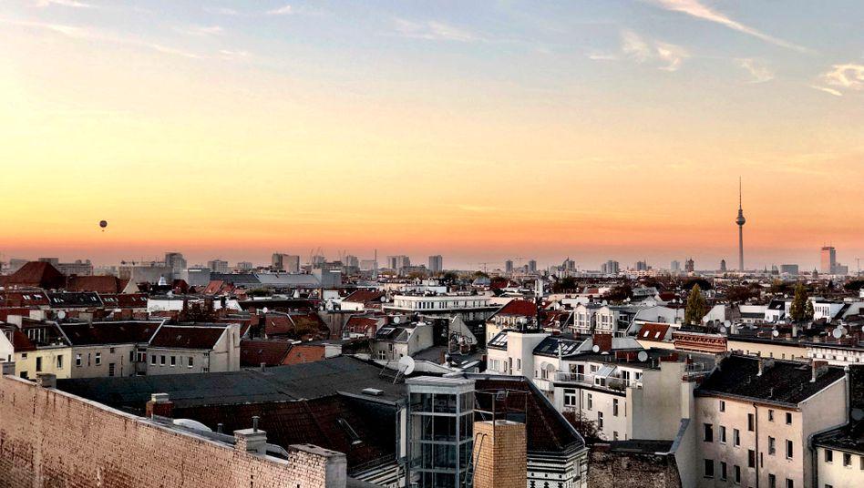 Schöner Wohnen: Dieser Blick auf Berlin kostet vermutlich viel Geld