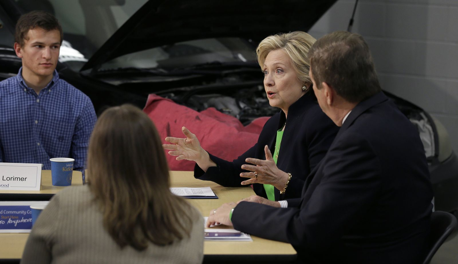 Hillary Rodham Clinton, Mick Starcevich