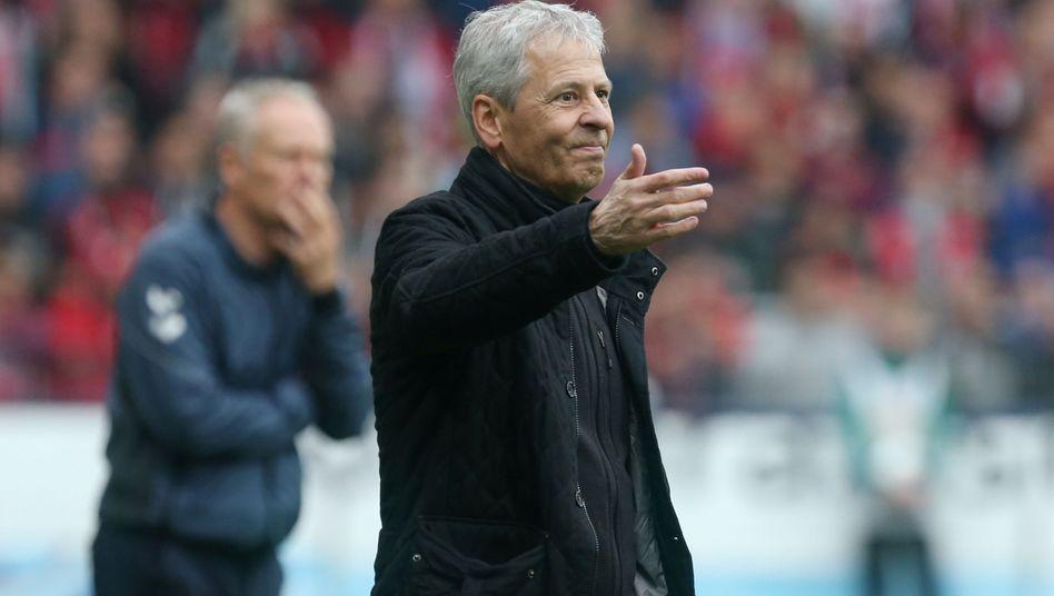 Lucien Favre erlebte das dritte Bundesliga-Remis seines Teams in Folge