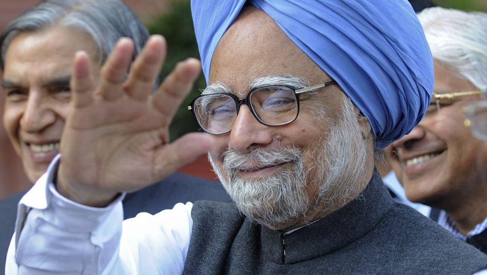 Indiens Ministerpräsident Singh: Filz und Bestechung weit verbreitet