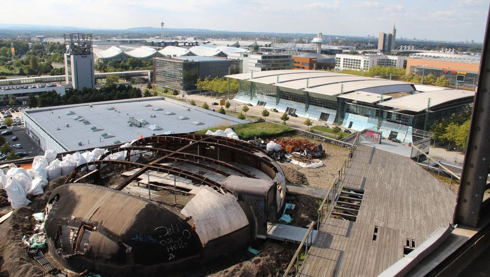 Expo 2000 in Hannover: Brache, Business und Natur - die Expo heute