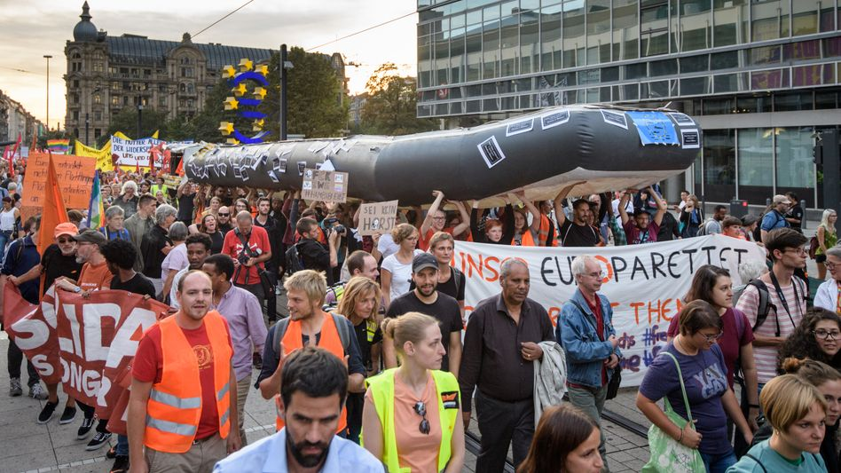 Demonstration in Frankfurt am Main