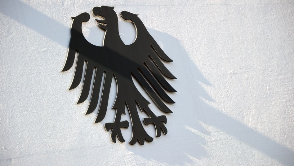 The eagle, the seal of the German government, hangs on the wall of the Federal Constitutional Court, which will now rule on Sept. 12 on the future of the euro bailout.