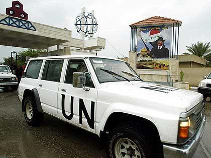 Uno-Waffeninspektionen im Irak: Ergebnis erst nach mehreren Monaten