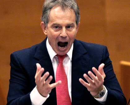Tony Blair: Misstrauen gegenüber Schröder