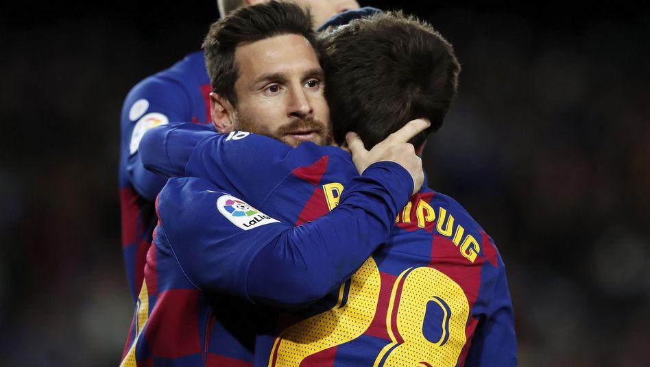 Lionel Messi: Der Entscheider gegen Granada