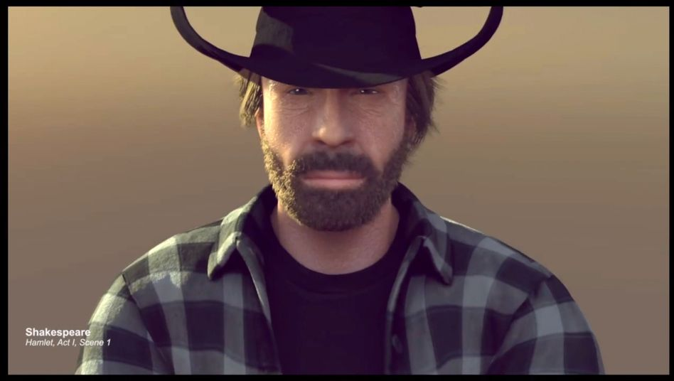 "Chuck Norris im Video von Delov Digital: Remake des ""Epic Split"""