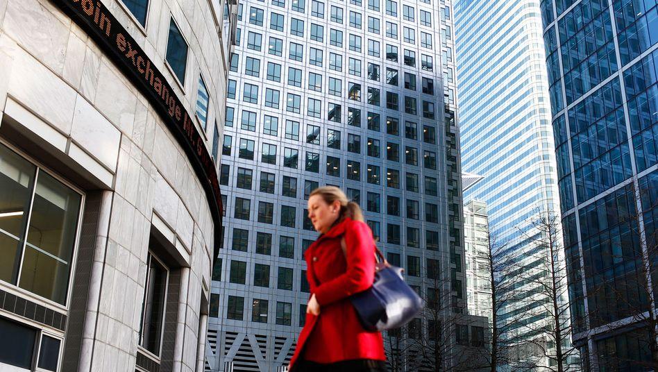 Finanzdistrikt in London