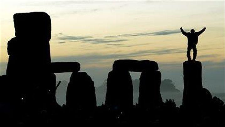 Original-Stonehenge: Sonnenanbeter und New-Age-Pilger (Archiv)