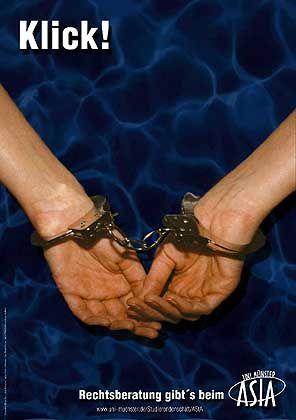 Der freundliche AStA empfiehlt: Rechtsberatung statt Handschellen