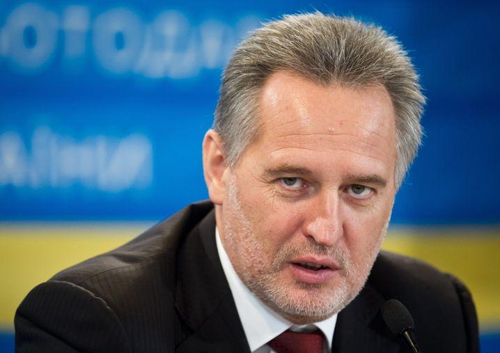 Oligarch Firtasch (Archivbild): Milliarden für die Ukraine - nur von wem?