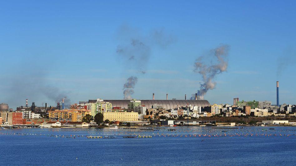 Stahlwerk in Tarent: Symbol des Scheiterns