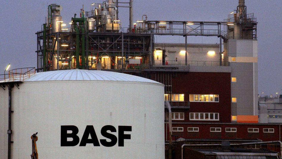 Werksgelände der BASF in Ludwigshafen (Archivbild)