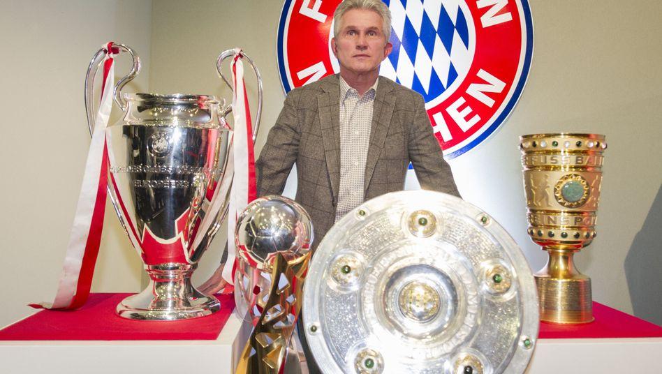 Bayern-Trainer Heynckes: Triple-Sieger mit dem FC Bayern