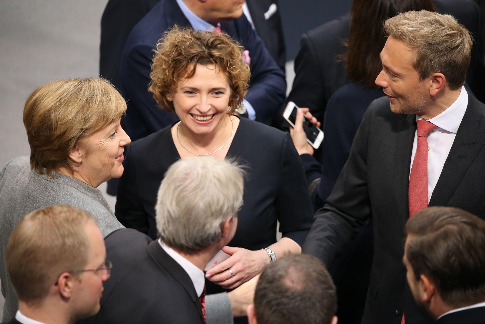 Konstituierende Sitzung des Bundestages