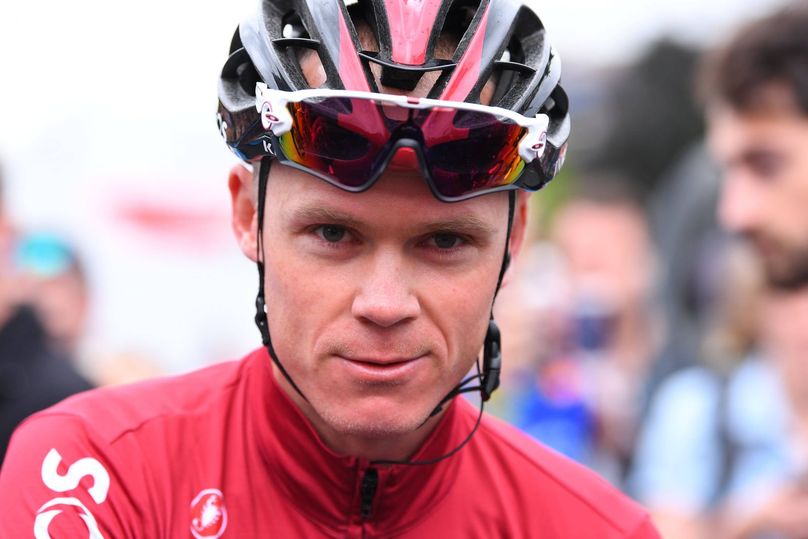 JUSSAC, FRANCE - JUNE 9 : FROOME Chris (GBR) of Team INEOS during stage 1 of the 71th edition of the Criterium du Dauph