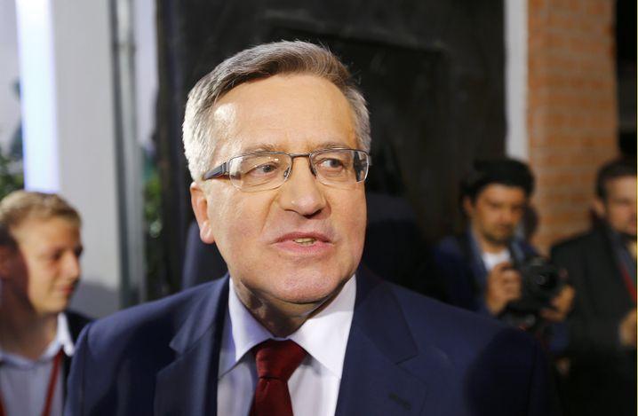 Bronislaw Komorowski: Wechselstimmung nicht erkannt