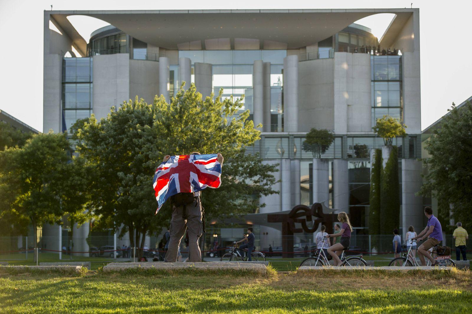 EINMALIGE VERWENDUNG Kanzleramt/ Briten