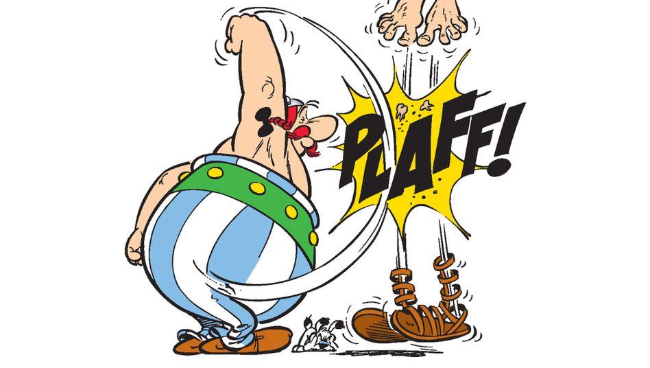 Obelix, der kräftigste aller gallischen Krieger