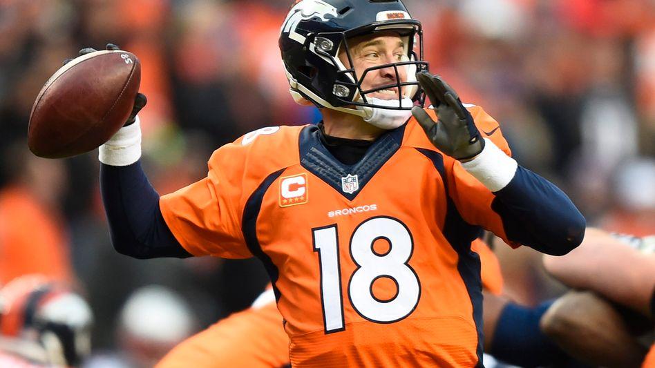 """Broncos-Quarterback Manning: """"Kompletter Müll"""""""