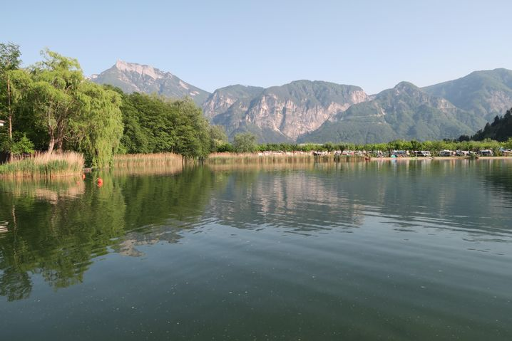 Lago di Levico im Valsugana: Klein und übersichtlich