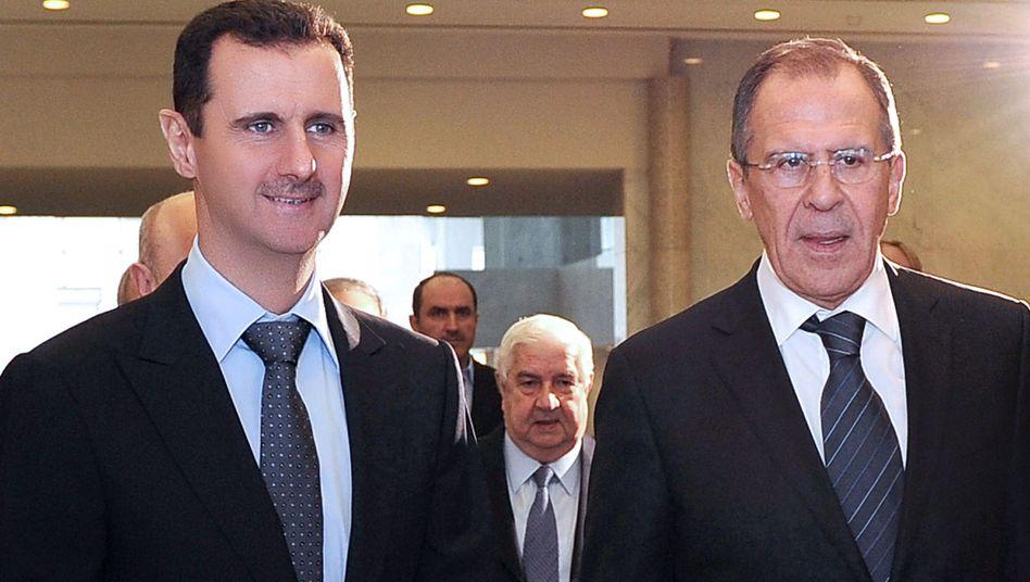 """Lawrow bei Assad: """"Russland wird ihm nicht den Laufpass geben"""""""
