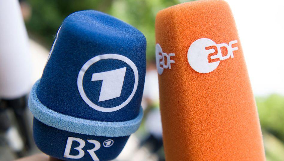Logos von ARD und ZDF