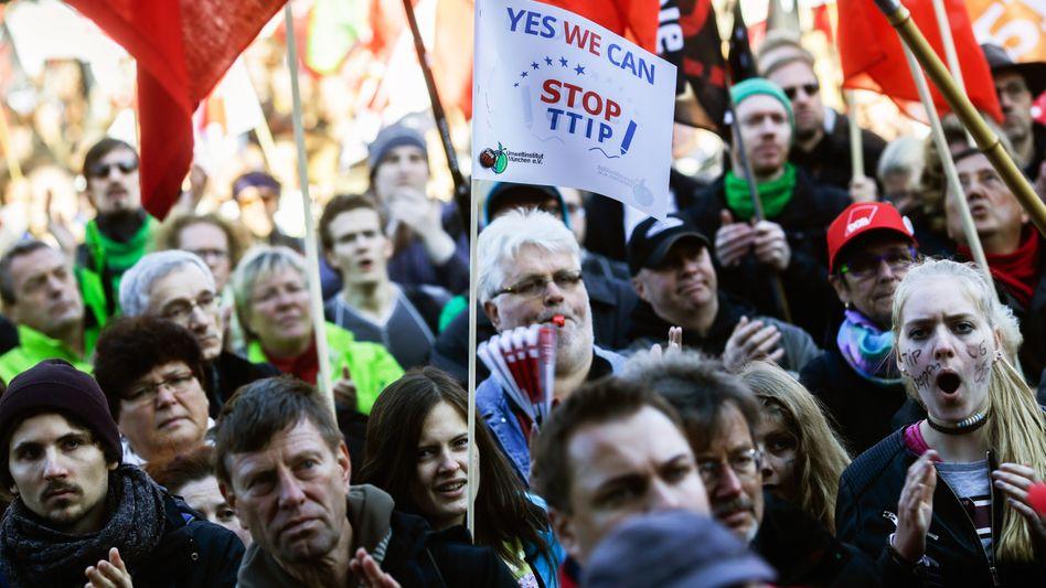 TTIP-Demonstration in Berlin (Archivbild)