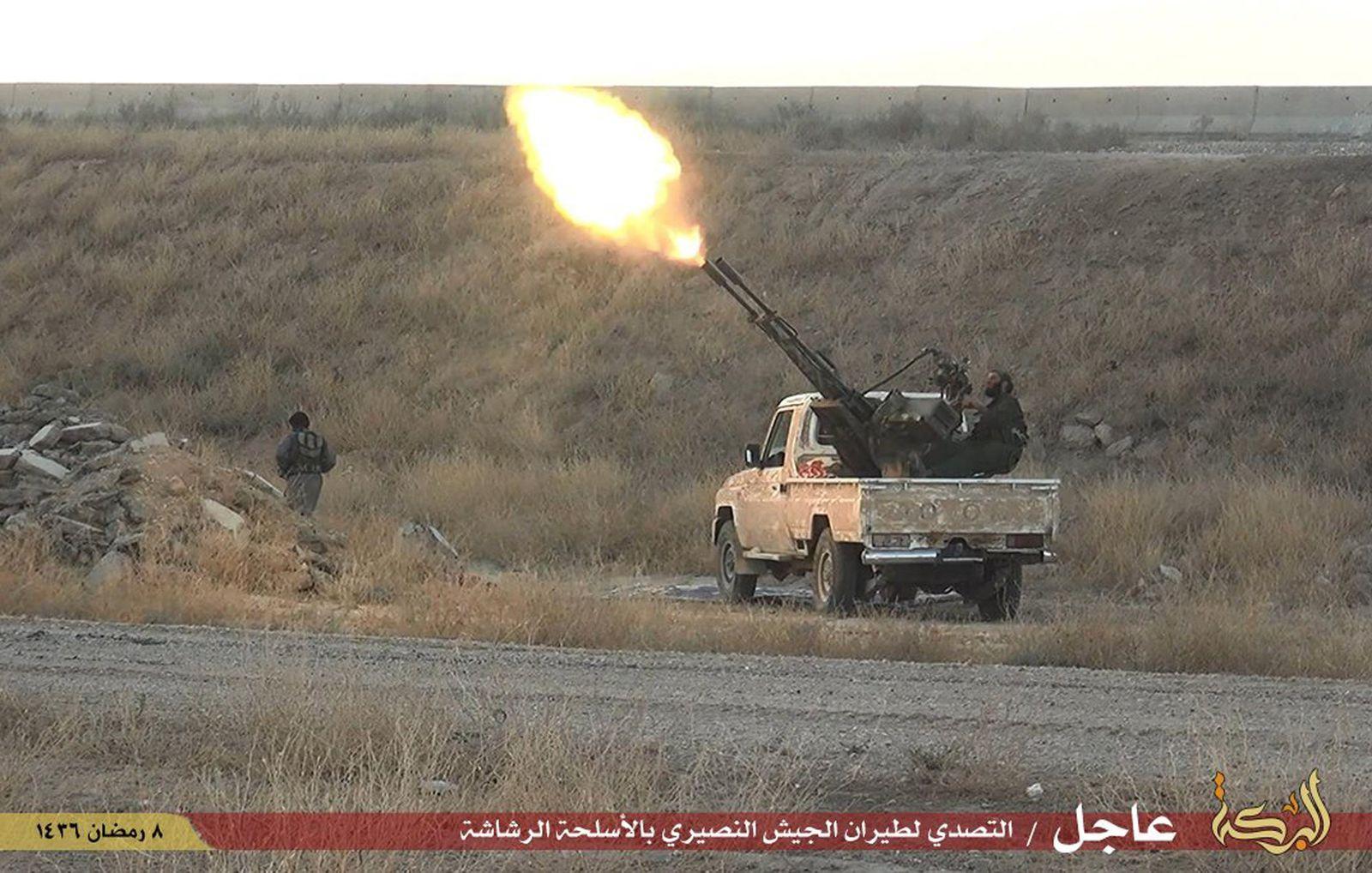 Islamischer Staat Waffen Waffenhandel