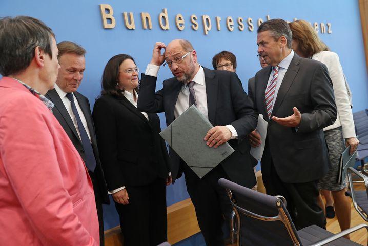 Schulz und SPD-Politiker