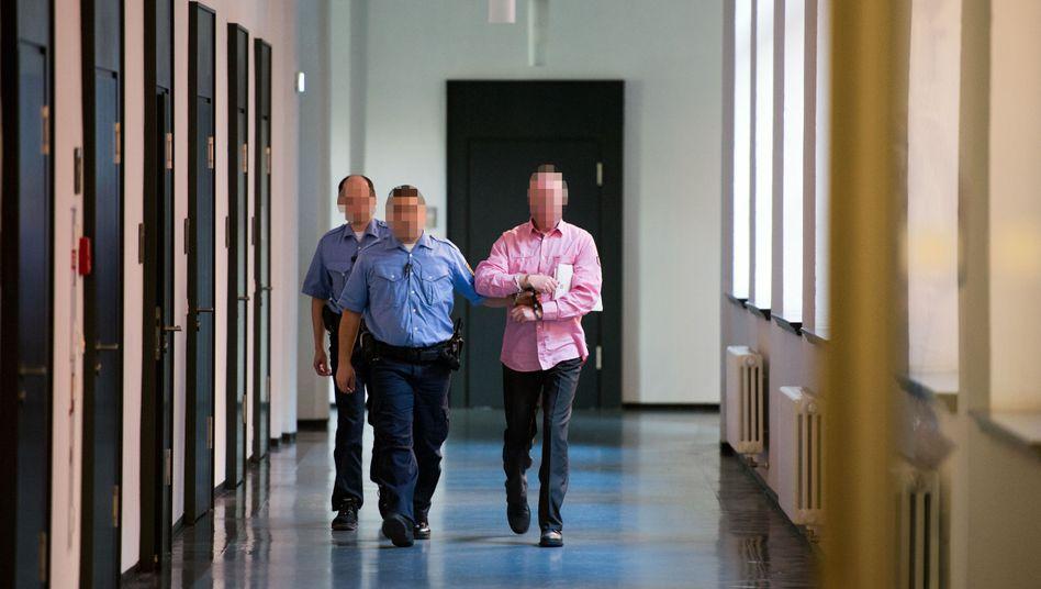Detlev G. im Landgericht Dresden (Archiv): Wegen Mordes verurteilt