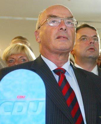 CDU-Spitzenkandidat Schönbohm: Aus der Traum vom Machtwechsel in Postdam