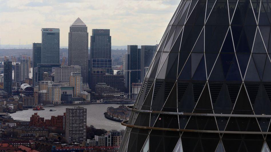 Bankenviertel von London