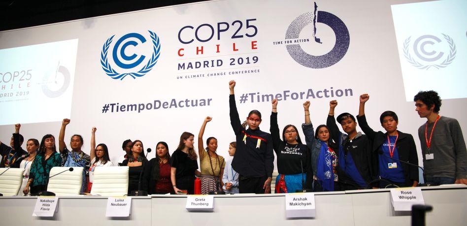 Klimagipfel in Madrid: Seit Dezember 2019 ist wegen Corona Pause