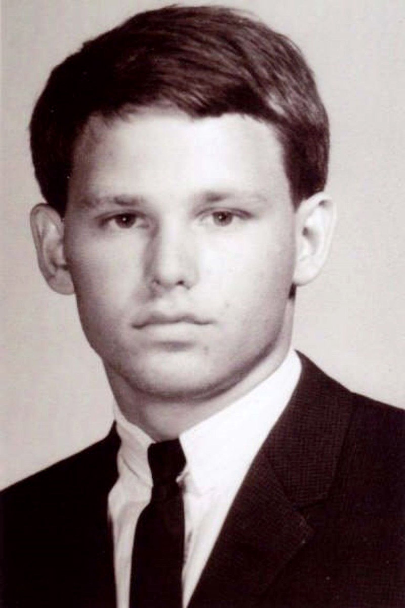 Jim Morrison High School Yearbook Portrait