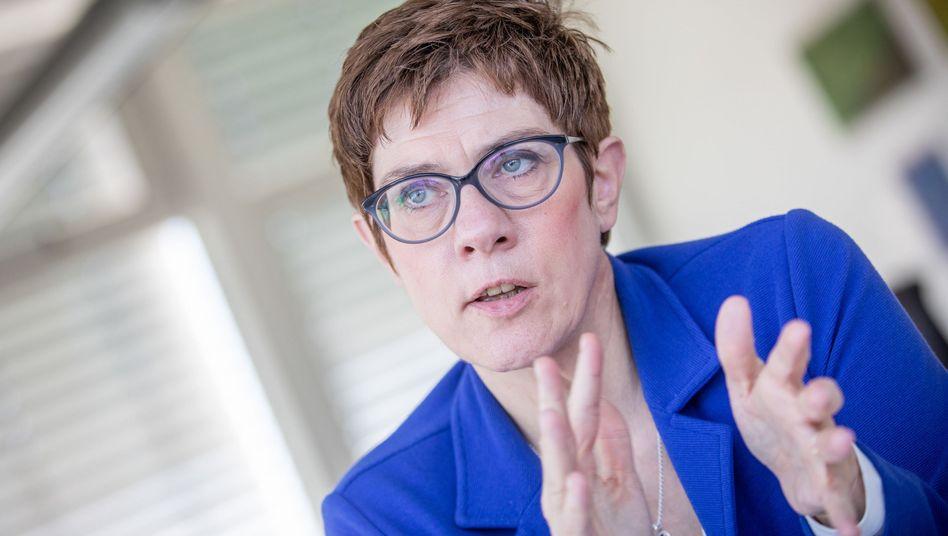 CDU-Bundesvorsitzende Kramp-Karrenbauer