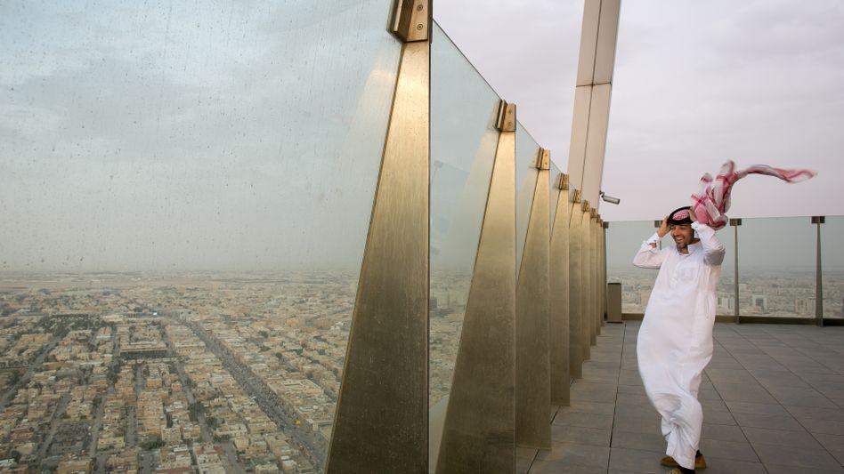 Blick auf die Hauptstadt Riad
