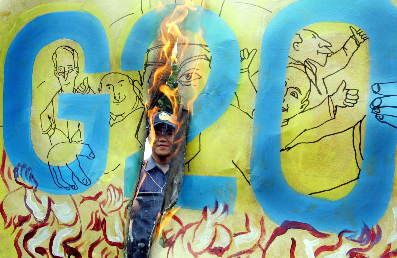 Philippines G-20 Protest