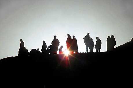 Frühsport für Sonnenanbeter: Die Sonnenpyramide von Teotihuacan ist der ideale Ort, um den neuen Tag zu begrüßen