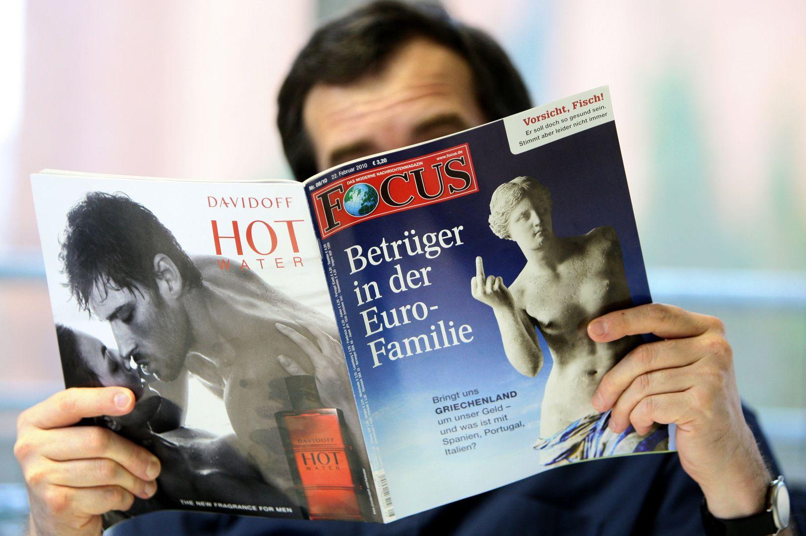 """Griechen empört über """"Focus""""-Titel"""
